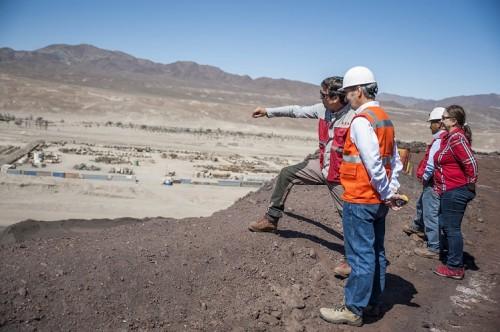 Vicepresidente de ENAMI recorre faenas mineras en las regiones de Antofagasta y Atacama