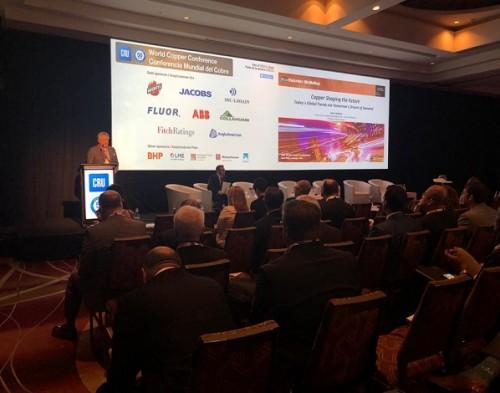 Minería del futuro y suministro responsable marcan el cierre de Conferencia Mundial del Cobre