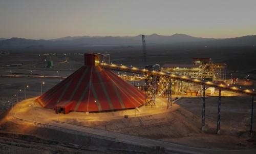 """Gabriela Mistral es la primera minera de cobre del mundo que produce cátodos 100 porciento verdes"""""""