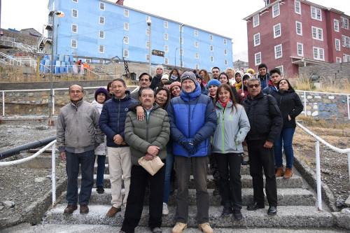 Sewell concentró las miradas en conmemoración del Día del Patrimonio