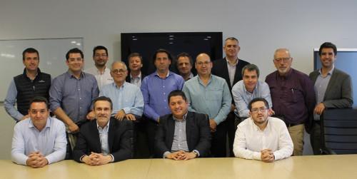 Delegación de la Experiencia Australia 2019 se reúne con destacados ejecutivos mineros