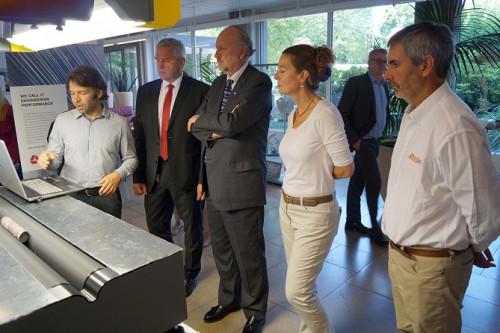 Ministro de Minería visita empresa tecnológica alemana experta en manejos de relaves y cierre de faenas