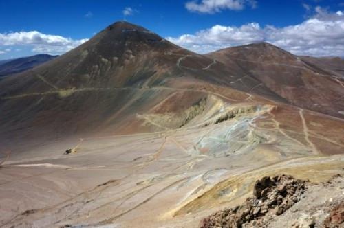 Proyecto Filo del Sol en la frontera entre Argentina y Chile, avanza en su etapa de exploración