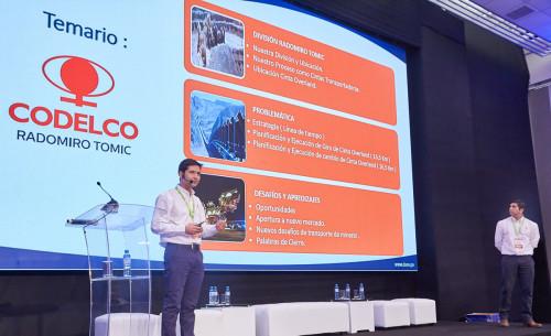 Profesionales de RT representan a Codelco en congreso internacional de minería