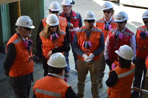 Directores de ENAMI se reúnen con asociaciones mineras del Huasco en Vallenar