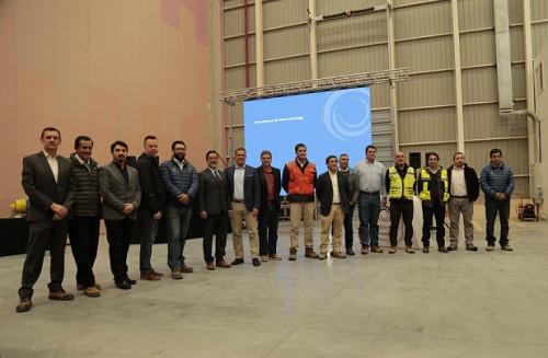 Ejecutivos de METSO visitan laboratorios de HighService Technology y MIRS