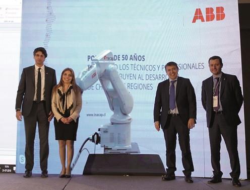 Gobierno y ABB realizan primera demostración de 5G industrial en Chile