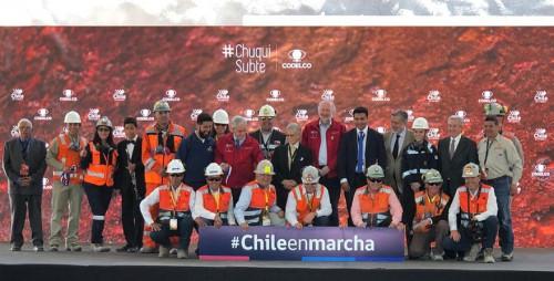 Codelco inaugura Chuquicamata Subterránea
