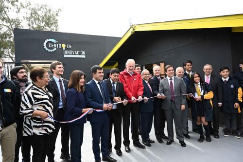 Inauguran Centro de Innovación Tecnológica en colegio de Los Andes