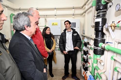 Ministro de Minería inaugura sistema de climatización sustentable en jardín infantil de Los Ríos