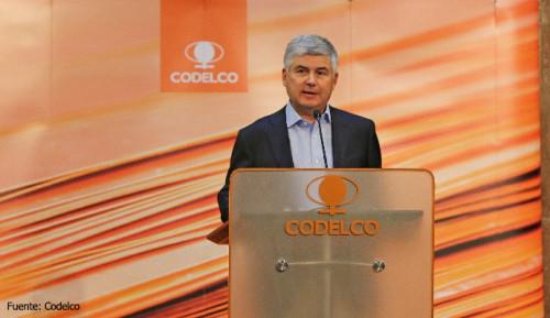 Octavio Araneda asume vicepresidencia ejecutiva con la misión de transformar a Codelco en una empresa del segundo cuartil de costos a 2022