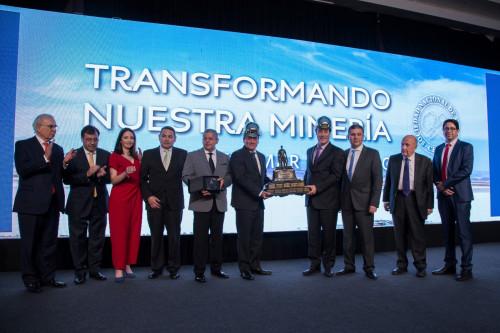 Mantoverde recibe premio «John T. Ryan» por su destacado desempeño en materia de seguridad