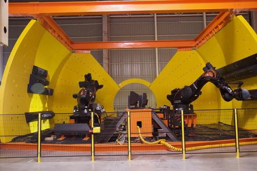 MIRS lanza soluciones robóticas que automatizan el proceso de cambio de revestimientos en molinos