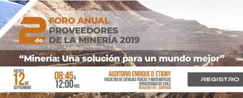 APRIMIN realiza 2do Foro Anual de Proveedores de la Minería Chilena 2019