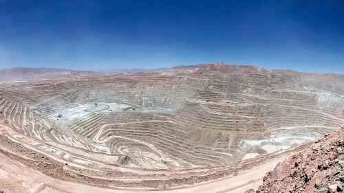 Expansión de Suministro de Agua de Escondida presenta un 40% de avance en su fase de construcción