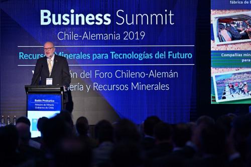 Ministro de Minería: «Tenemos un futuro muy importante con Alemania debido al auge de la electromovilidad»