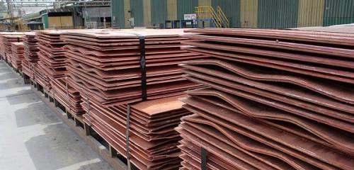 Precio del cobre encadena tercera alza consecutiva en Londres