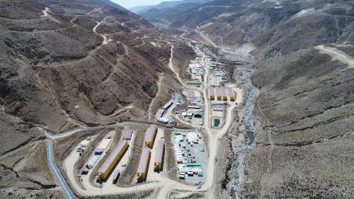 Quellaveco presenta un 34% de avance en sus obras y se espera su primera producción para 2022