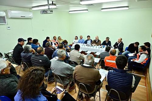 Directorio de Enami se reúne con productores mineros en El Salado
