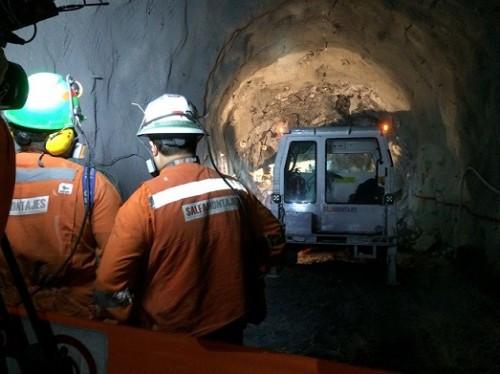 Proyecto Nuevo Nivel Mina de El Teniente presenta un avance total de un 54%