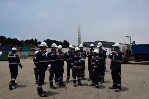 Tribunal Ambiental de Santiago inspecciona instalaciones de División Ventanas