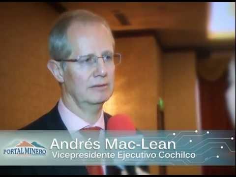 Entrevista de la Semana, Andrés Mac-Lean Vicepresidente Ejecutivo de Cochilco.