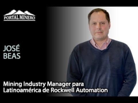 José Beas, Mining Industry Manager para Latinoamérica de Rockwell Automation