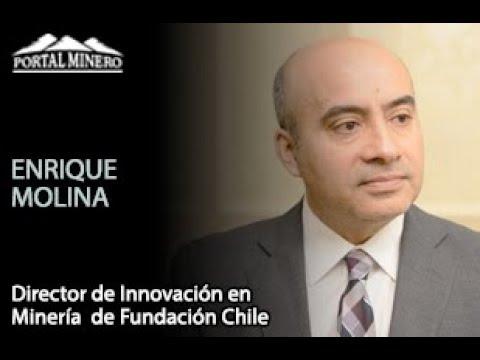 Enrique Molina, Director de Innovación en Minería  de Fundación Chile