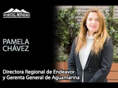 Pamela Chávez, Directora Regional de Endeavor y Fundadora de Aguamarina