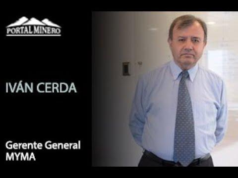 Iván Cerda, Gerente General MYMA (Minería y Medio Ambiente)