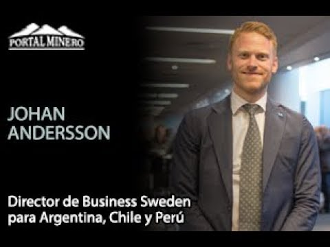 Johan Andersson, Director de Business Sweden para Argentina, Chile y Perú