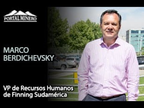 Marco Berdichevsky, VP de Recursos Humanos de Finning Sudamérica
