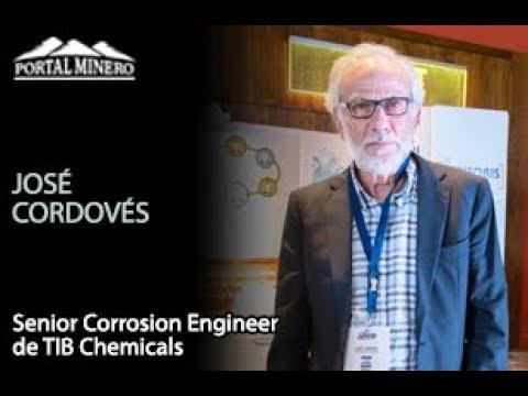 José Cordovés, Senior Corrosion Engineer de TIB Chemicals