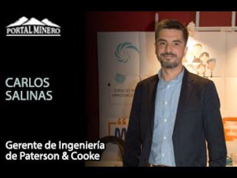 Carlos Salinas, Gerente de Ingeniería de Paterson & Cooke