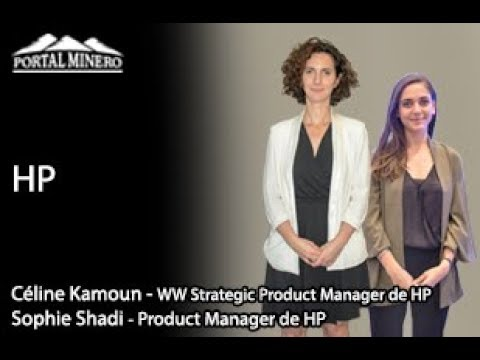 Sophie Shadi, Product Manager y Céline Kamoun, Strategic Product Manager de HP