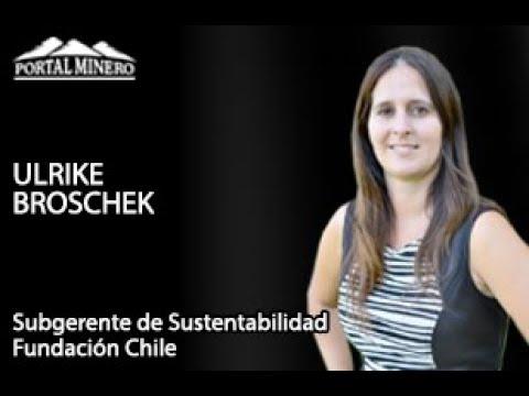 Ulrike Broschek, Subgerente de Sustentabilidad Fundación Chile – Water Week Latinoamérica 2018