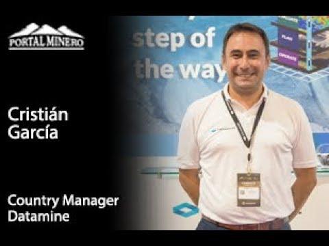 Cristián García, Country Manager Datamine