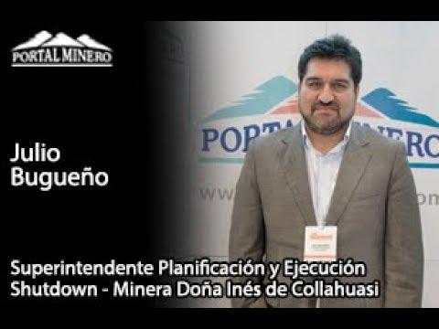 Julio Bugueño – Superintendente Planificación y Ejecución Shutdown Minera Doña Inés de Collahuasi