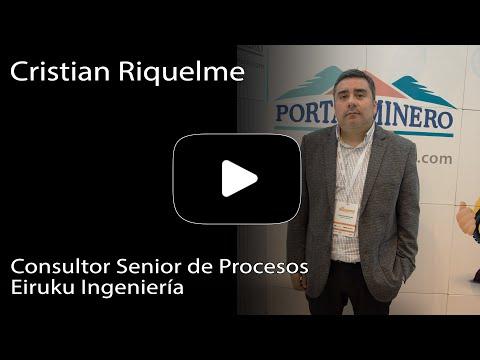 Cristian Riquelme – Consultor Senior de Procesos Eiruku Ingeniería