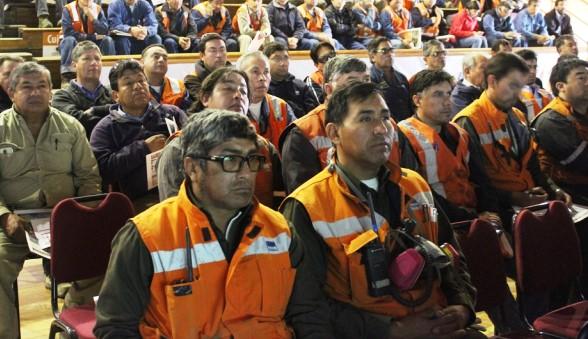 Mantenedores de Chuquicamata se capacitan para mejorar la seguridad