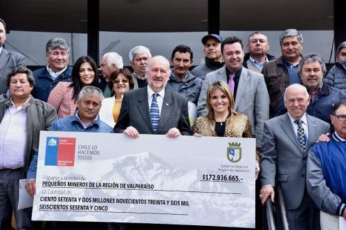 Ministerio de Minería entrega beneficio a pequeños mineros de Petorca