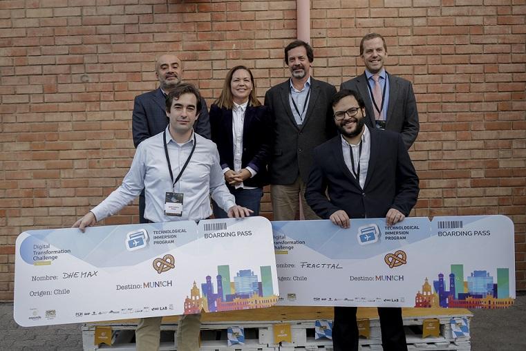 Dhemaz y Fracttal participarán del primer programa de inmersión tecnológica entre Chile y el estado federado de Bayern