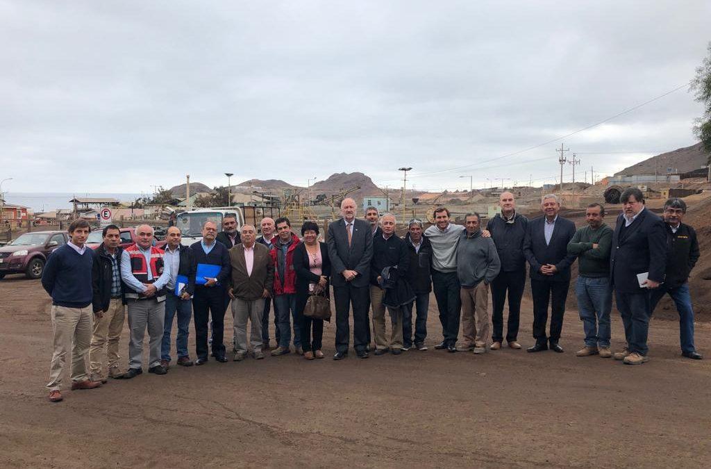 Directorio de ENAMI se reúne con productores mineros de Taltal previo a nueva sesión en terreno
