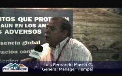 Testimonial Hempel Chile Ltda. Luis Fernando Mosca G.