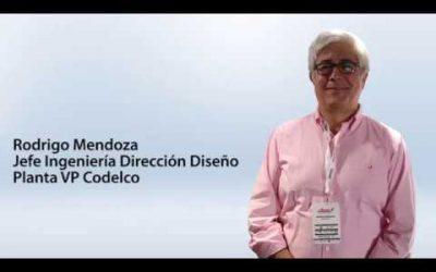 Rodrigo Mendoza – Jefe Ingeniería Dirección Diseño Planta VP Codelco