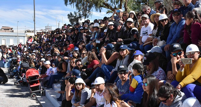 Culmina la conmemoración por los 104 años de Chuquicamata
