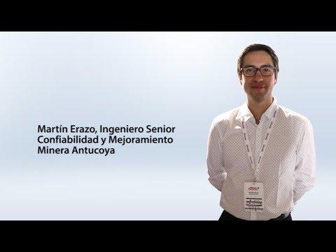 Martín Erazo, Ingeniero Senior Confiabilidad y Mejoramiento, Minera Antucoya