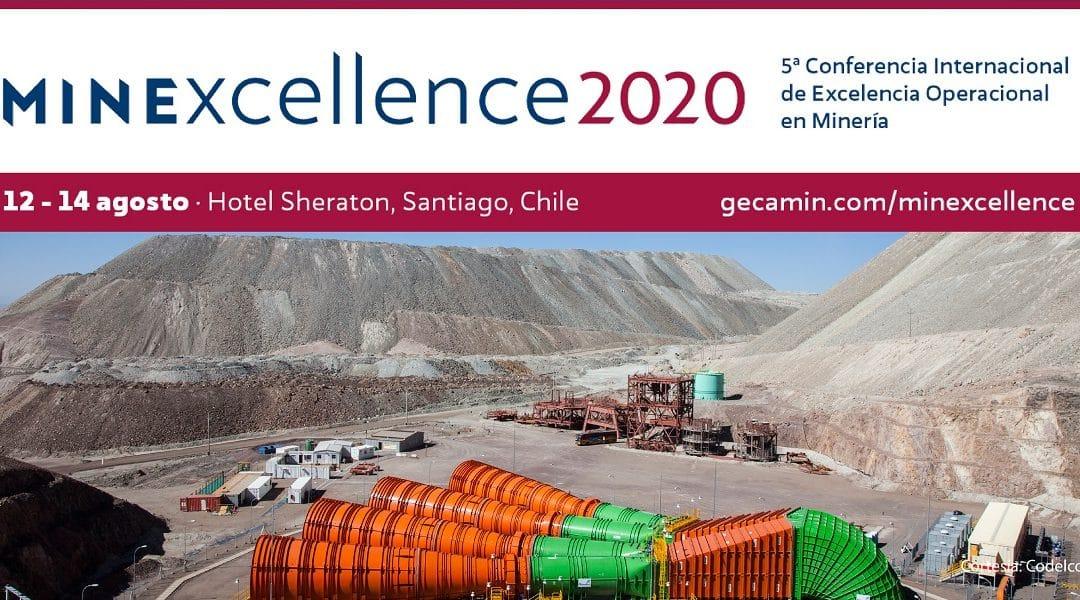 Conferencia Internacional de Excelencia Operacional en Minería – Minexcellence 2020