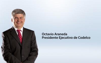 Entrevista Octavio Araneda, Presidente Ejecutivo de Codelco