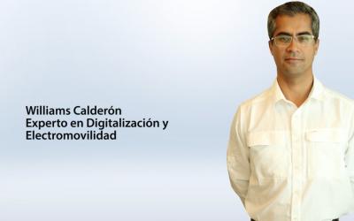 Entrevista Williams Calderón – Experto en Digitalización y Electromovilidad
